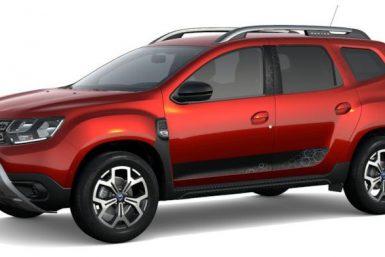 Dacia Duster rosso fusion