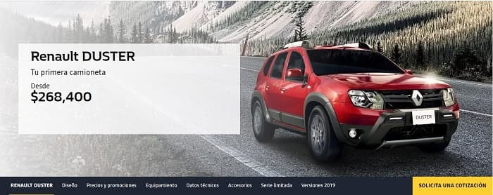 Renault Duster Messico