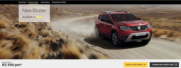 Renault Duster Sudafrica
