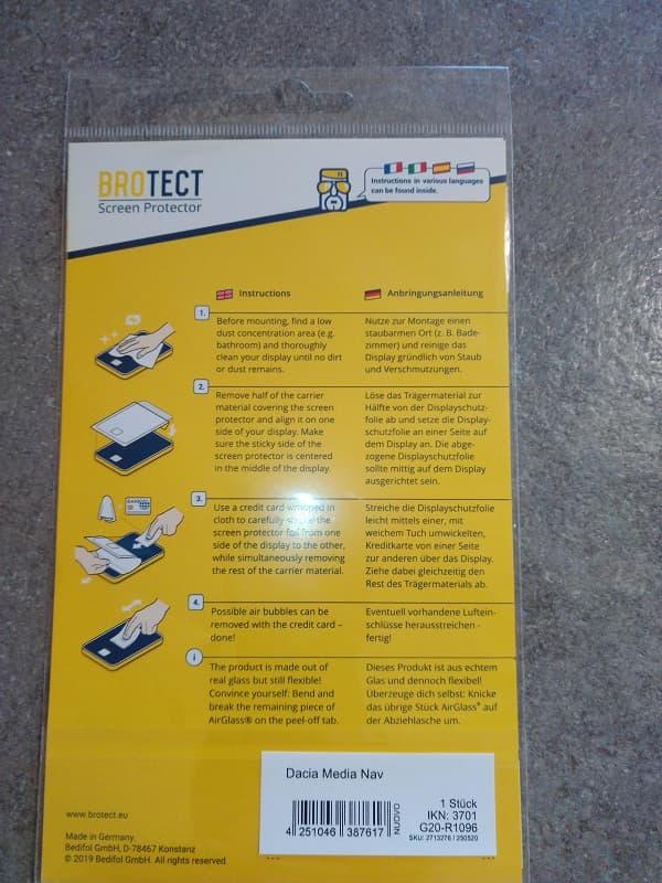 applicazione pellicola protettiva medianav